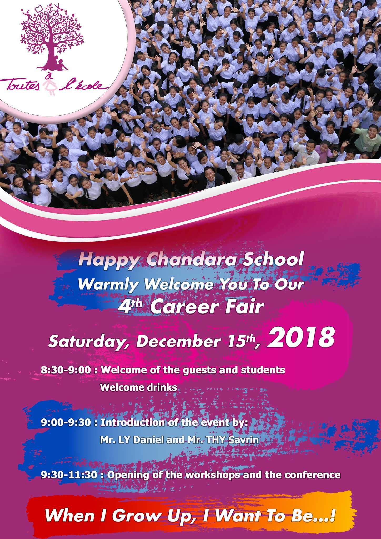 Career Fair @Happy Chandara School
